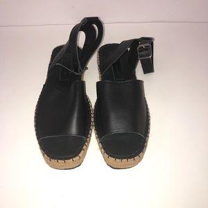 NWOT ASOS Espadrille Platform Sandals